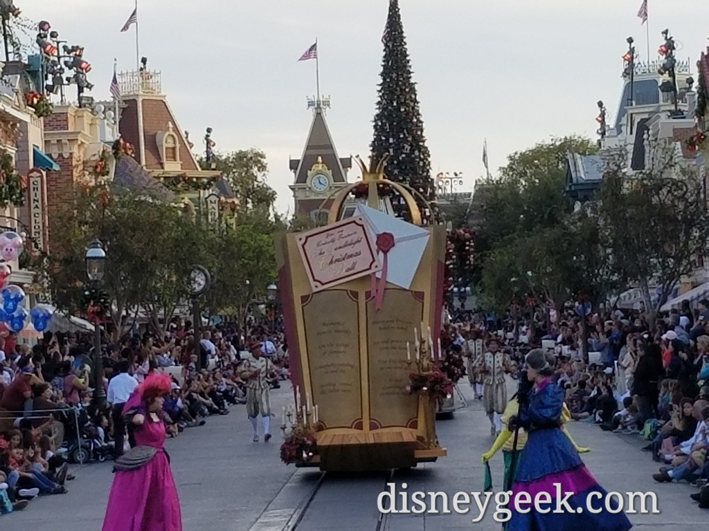 Disneyland A Christmas Fantasy Parade Several Pictures