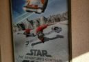 Star Tours started traveling to new destinations today, a new poster as you enter the park