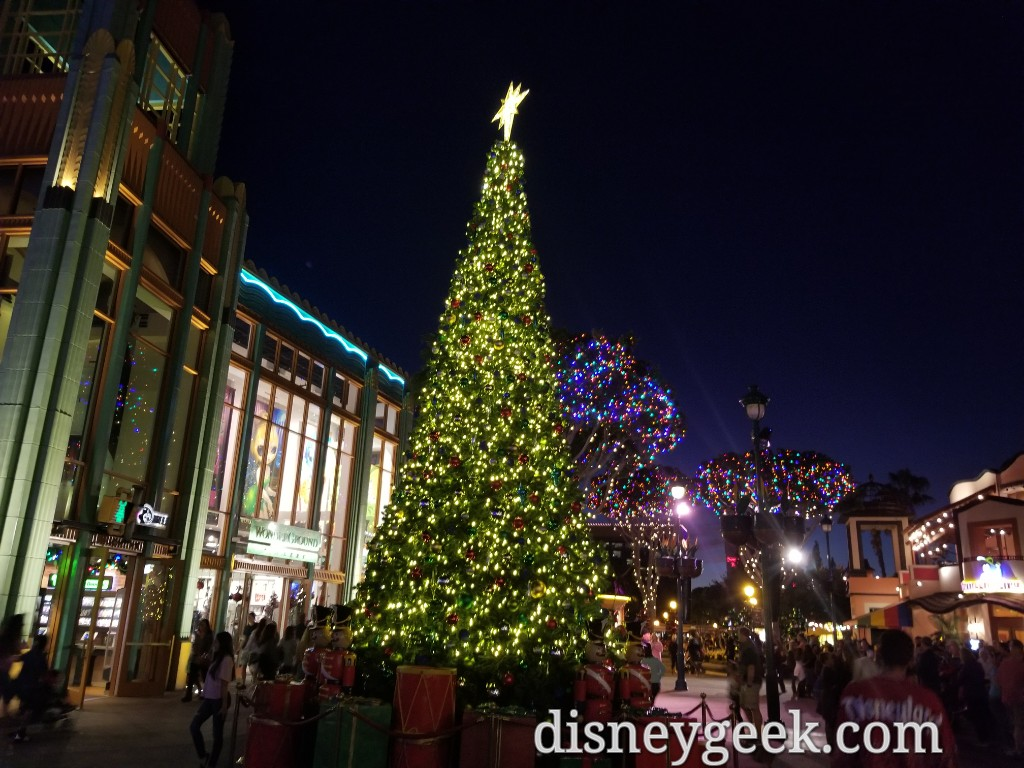 share this - Downtown Disney Christmas