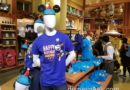 Mickey Birthday merchandise in World of Disney