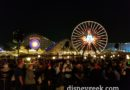 Found a spot for World of Color Season of Light.. only 30min till showtime