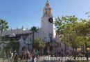 Passing Carthay Circle Restaurant  as I enter Disney California Adventure