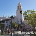 Passing Carthay Circle Restaurant as I enter Disney California Adventure