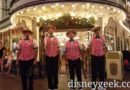 Dapper Dans of Disneyland performing on Main Street USA