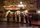 Dickens Yuletide Band performing in Town Square