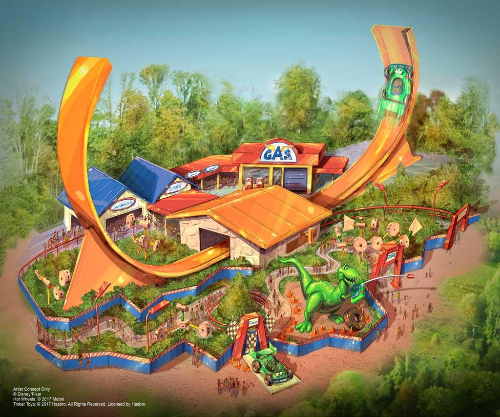 Rex's Racer rendering
