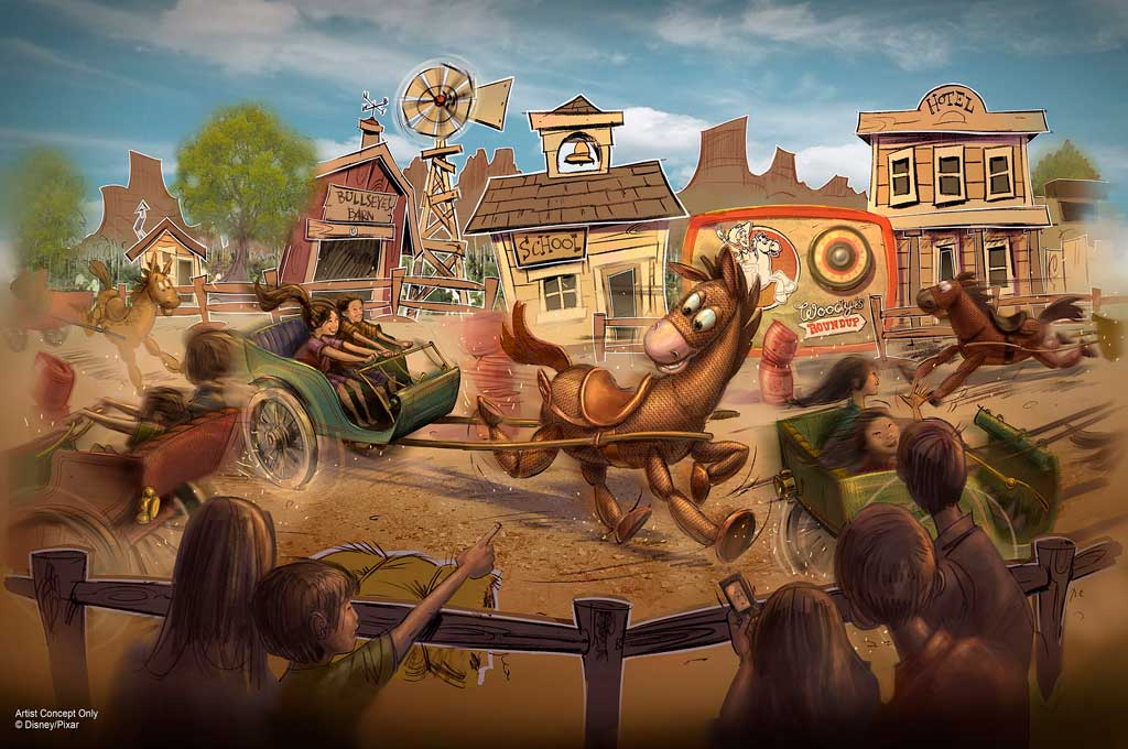 Woody's Round-Up rendering