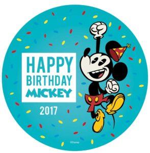 2017 Happy Birthday Mickey