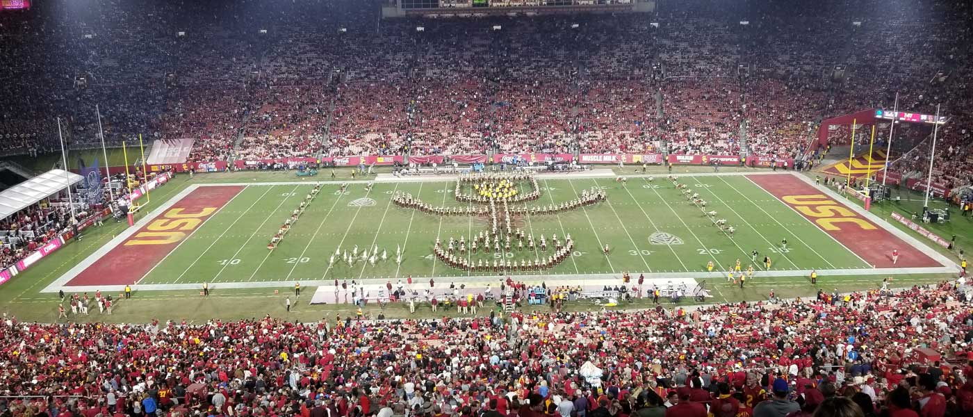 USC Trojan Marching Band Guardians of the Galaxy Halftime Show