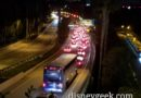 Disneyland Drive traffic this evening