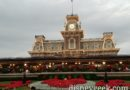 Arriving at Magic Kingdom for the evening