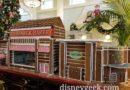 Boardwalk Lobby Gingerbread House