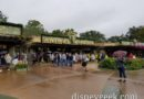 Arriving at a cold & rainy Animal Kingdom