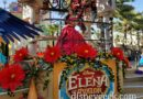 Elena of Avalor passing by Paradise Gardens