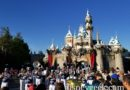 Disneyland Band performing a Star Wars Medley in front of Sleeping Beauty Castle