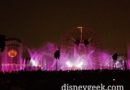 Time for World of Color Season of Light – No Fun Wheel Projections Again