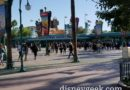 Disney California Adventure had only a few guests per line