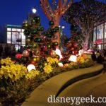 Disneyland Downtown Disney Christmas decorations