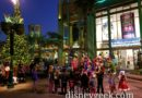 Holiday Harmony performing in Downtown Disney