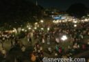 New Orleans Square from the Mark Twain tonight