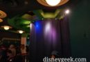 The Buzz Lightyear figure is behind a curtain and offline tonight in his queue