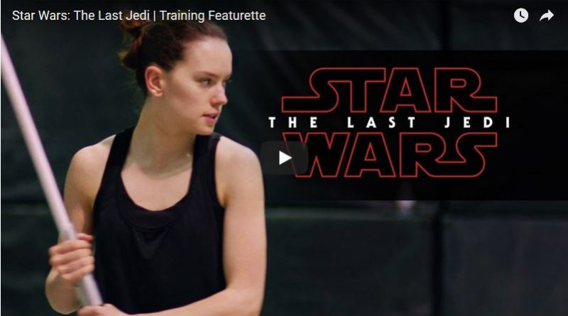 Star Wars Last Jedi - Training Day