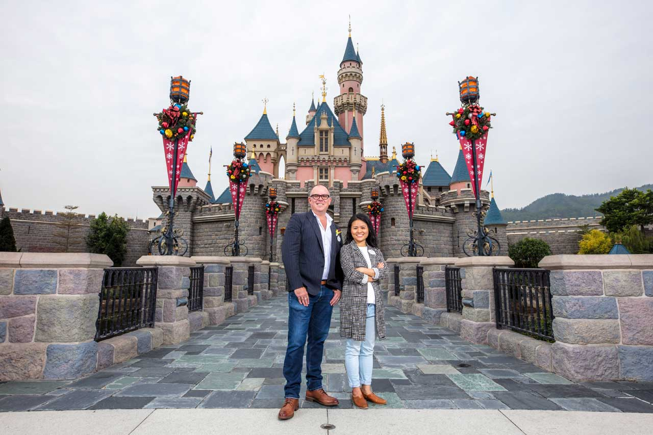 Kelly Willis, Executive creative director of Walt Disney Imagineering Asia Amanda Chiu, Producer Walt Disney Imagineering Asia