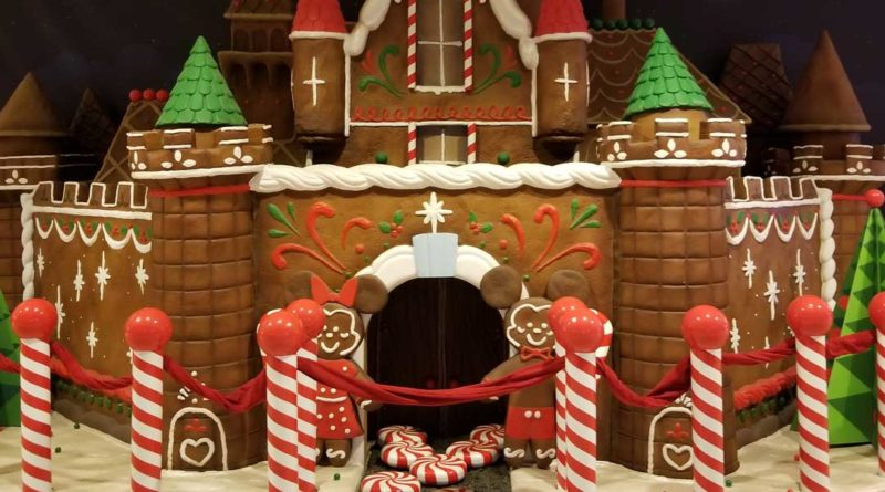 Disneyland Hotel Gingerbread