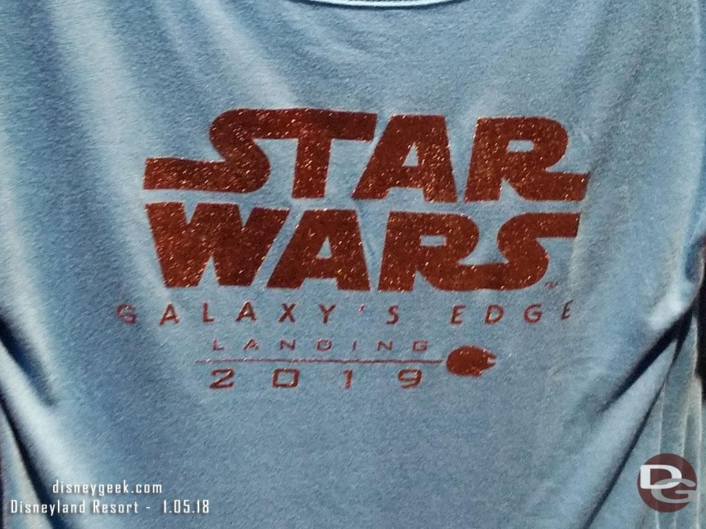 Star Wars: Galaxy's Edge Merchandise in Star Wars Launch Bay