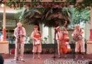 Ellis Island Boys performing at the  Paradise Gardens Bandstand