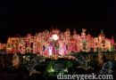it's a small world holiday this evening