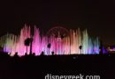 Closing out my evening with World of Color