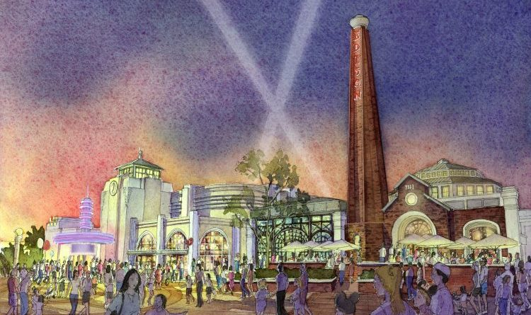 The Edison - Disney Springs - Concept Art