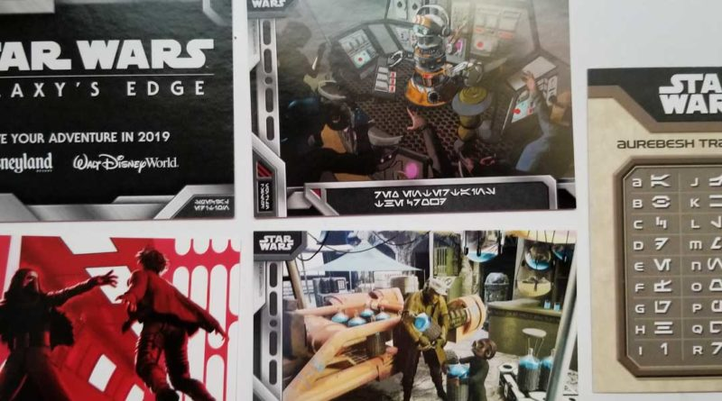 Star Wars Galaxy's Edge Trading Cards - Featured