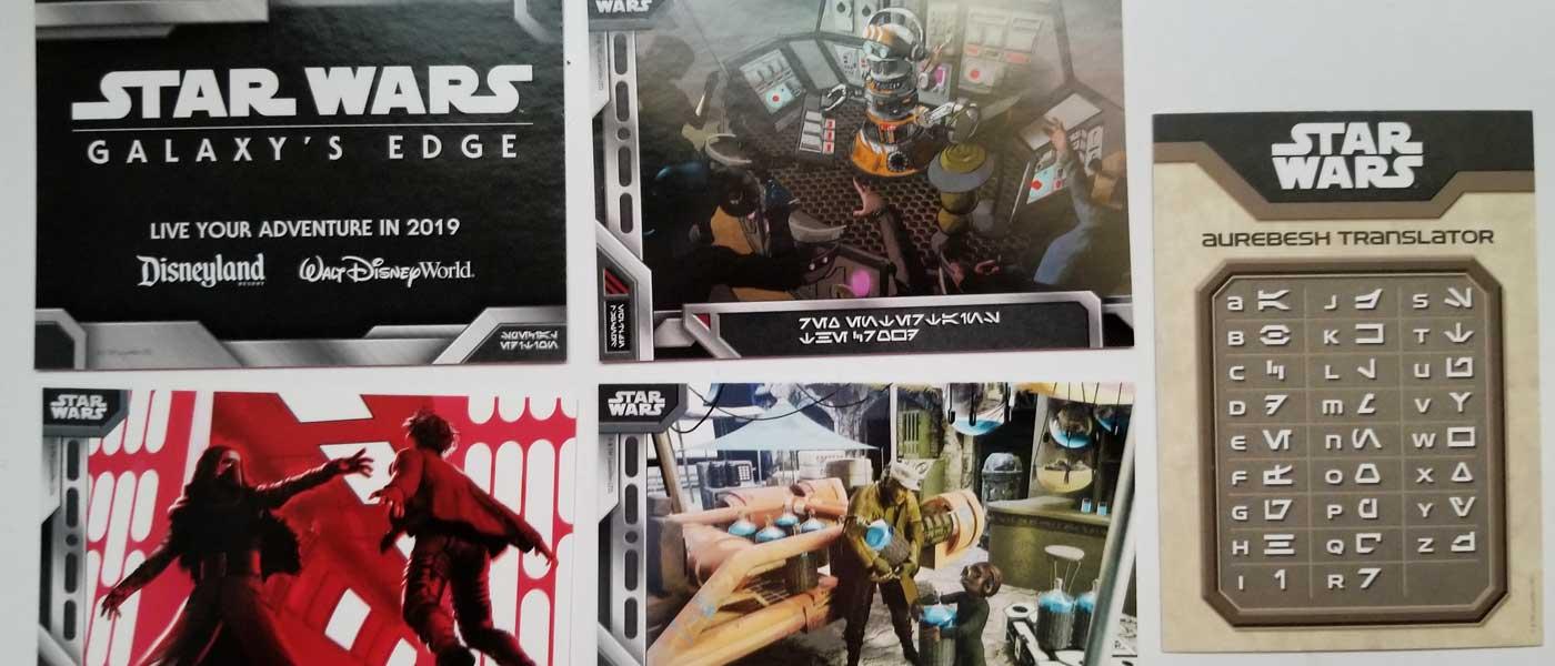 Star Wars: Galaxy's Edge Trading Cards