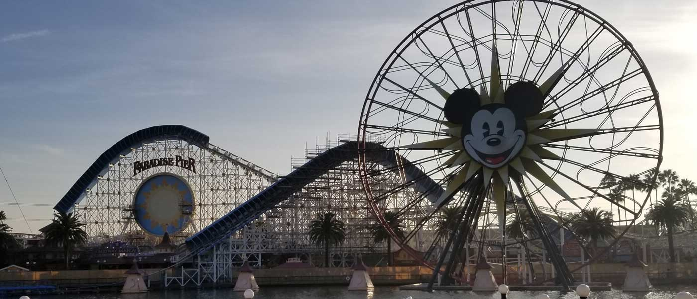 Paradise Pier Transformation to Pixar Pier – Pictures from 1/12