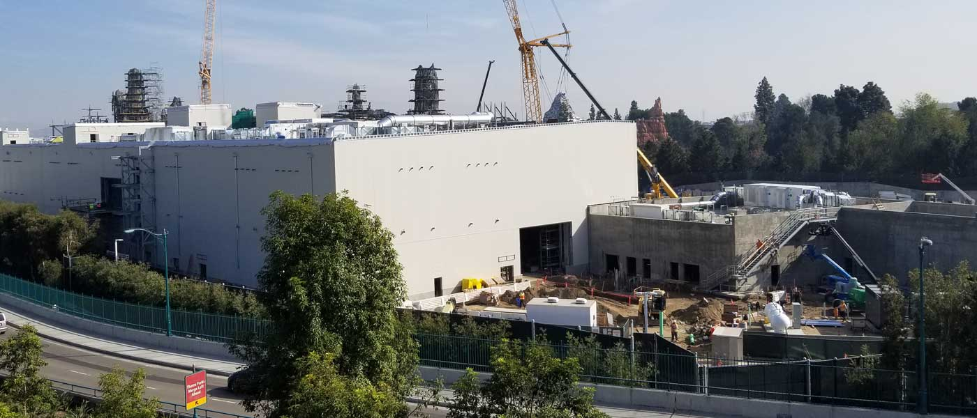 Disneyland Star Wars: Galaxy's Edge Construction Pictures (1/12)