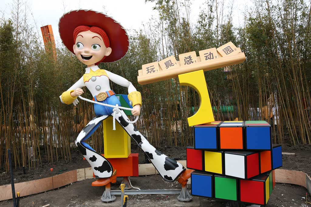 Shanghai Disneyland - Toy Story Land - Jessie