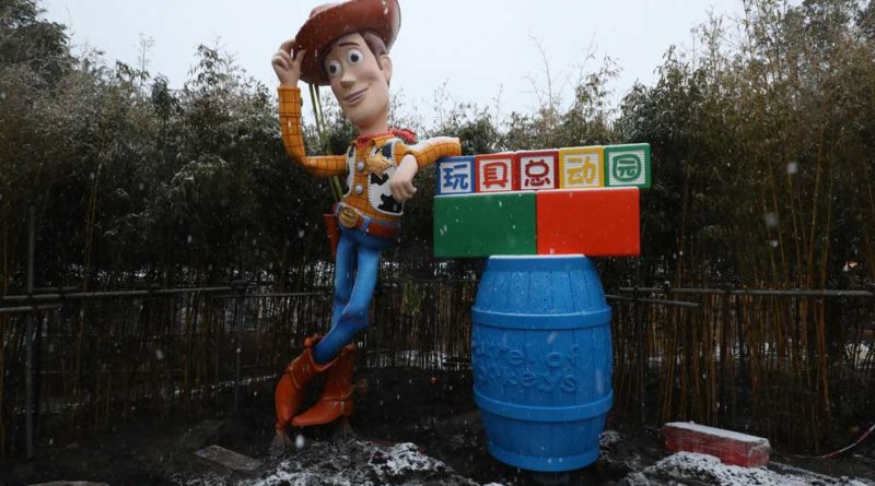 Shanghai Disneyland - Toy Story Land - Woody