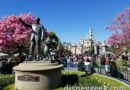 Disneyland Partners Statue this afternoon