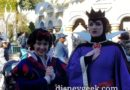 Snow White & the Evil Queen in Fantasyland at Disneyland
