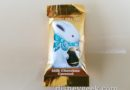 Ghirardelli samples are now Milk Chocolate Caramel Bunnies