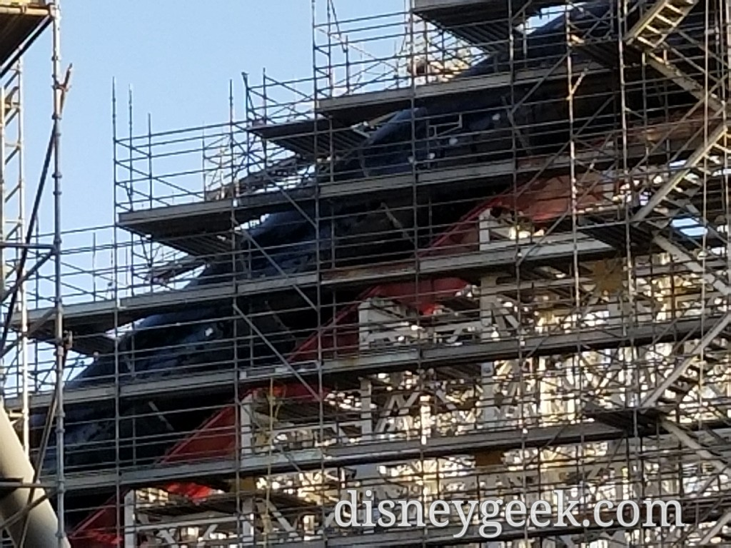 Paradise Pier Transformation to Pixar Pier Pictures from 2