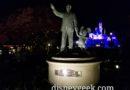 Disneyland Partners Statue & Sleeping Beauty Castle