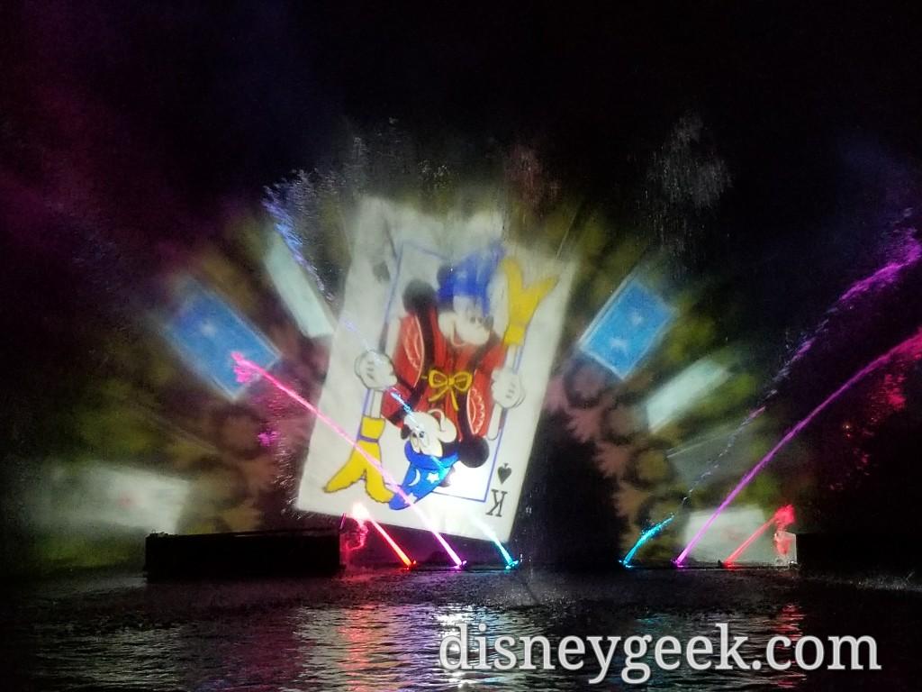 Disneyland Fantasmic Several Pictures The Geek S Blog