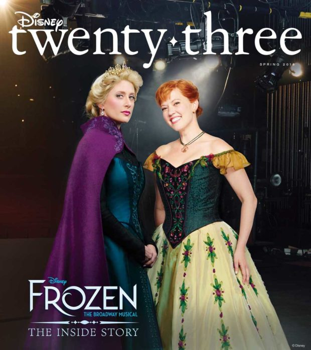 Disney Twenty Three Spring 2018 Cover