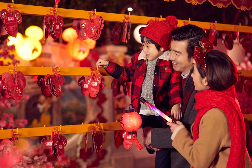 Shanghai Disneyland - Chinese New Year