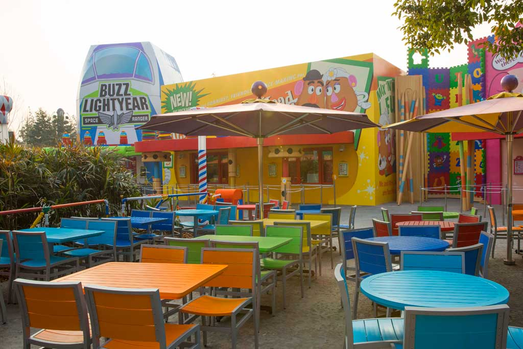 Shanghai Toy Story Land -Toy Box Cafe