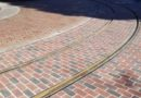 Disneyland Main Street USA – Streetcar Track Replacement Pictures from 2/23