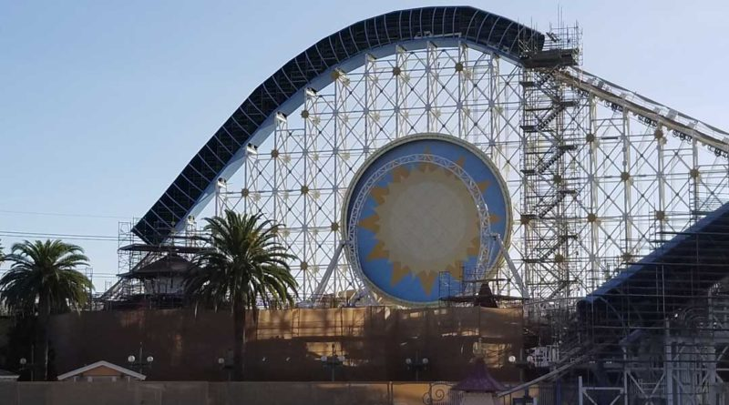Pixar Pier Construction 2/9 - Featured